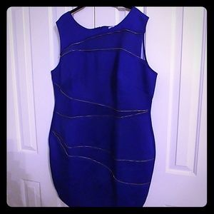 Royal Blue Monif C Dress
